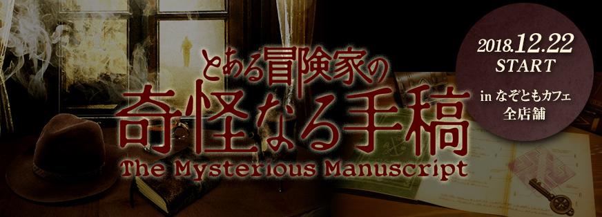 とある冒険家の奇怪なる手稿~The Mysterious Manuscript~